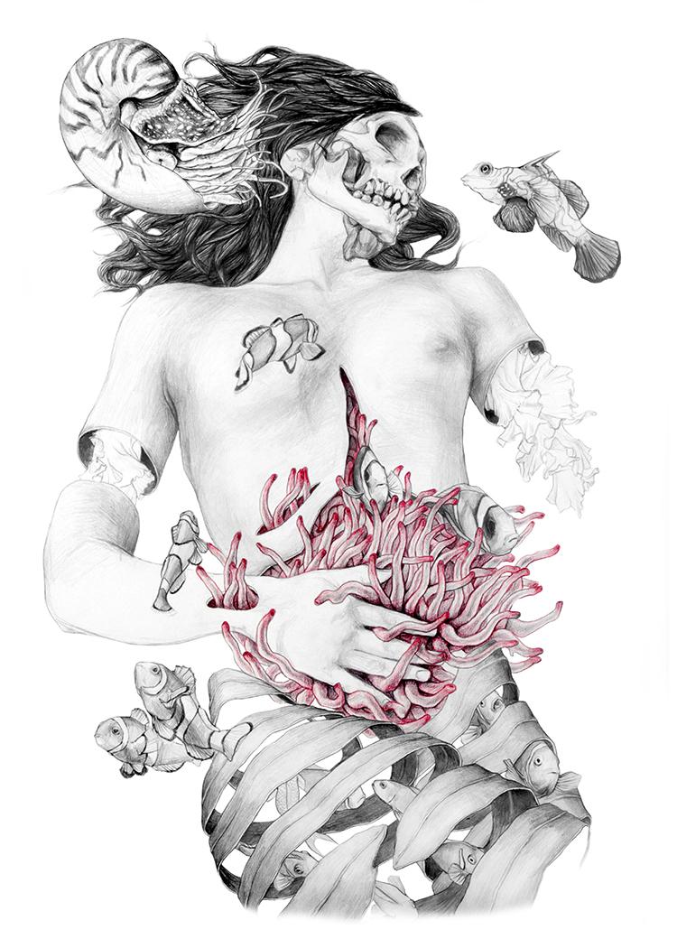 © Elisa Ancori | Mujeres Mirando Mujeres 2015 | Donia Hamzaoui | Makamo