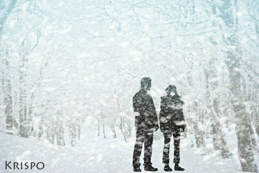 © Kristina Peña | Cortina de nieve