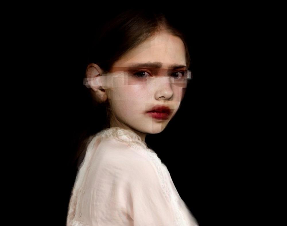 © Yolanda Dorda | niña collage digital 2017 Y