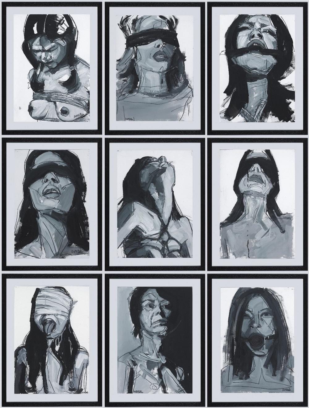 © Yolanda Dorda | panel oleo sobre papel 2011