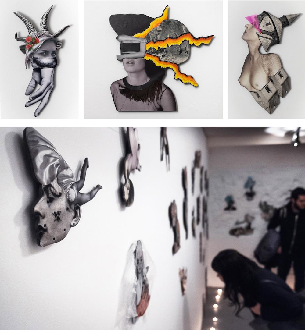 Exposición en galería La Isla, Madrid © Foto: Raul Bartolomé