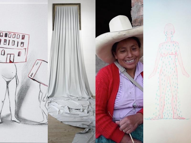 exposicion el poder de la presencia, Mujeres Mirando Mujeres, Gestoras Culturales
