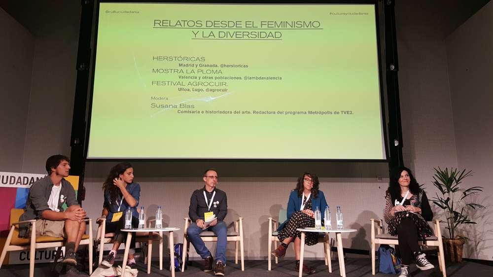Mariela Maitane, Marta Casquero y Sara López presentan Herstóricas, el proyecto visibiliza y valora la aportación histórica de las mujeres en la sociedad