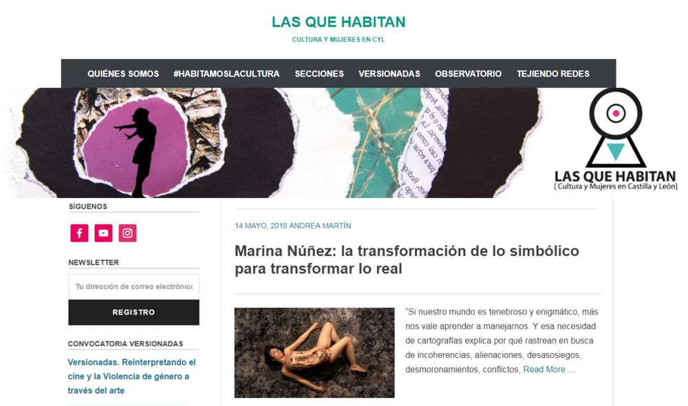 Andrea Martín | Las que habitan | Proyectos Invitados |Mujeres Mirando Mujeres | MmiraM19