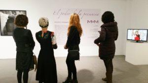 exposicion el poder de la presencia, eliminando los limites autoimpuestos, Mujeres Mirando Mujeres