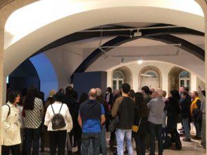 inauguración exposicion el poder de la presencia, Mujeres Mirando Mujeres