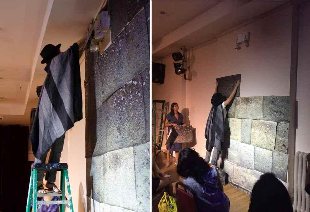 10 de julio - Karina Aguilera Skvirsky. El peligroso viaje de María Rosa Palacios y Cómo construir un muro y otras ruinas: PAPELES. Proyección y actuación en vivo