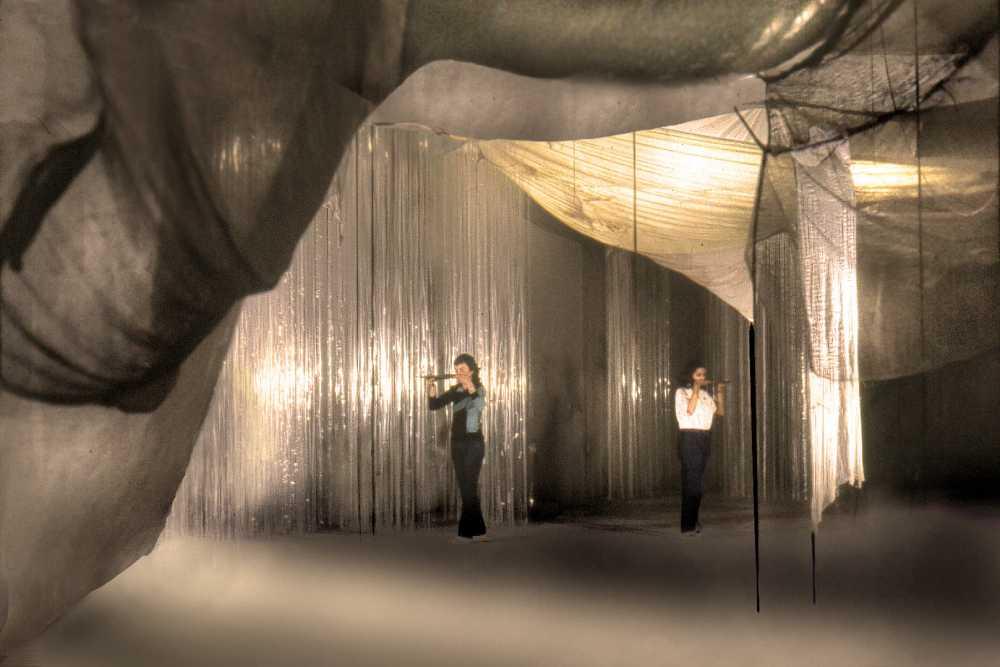 1983 Nube III . Mireya Baglietto.Bienal de Sao Paulo Brasil-Ph.Ricardo Tecni
