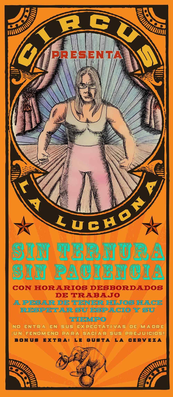 Glenda Rosero Luchona, dibujo e impresión digital, 100 x 45 cm, 2018