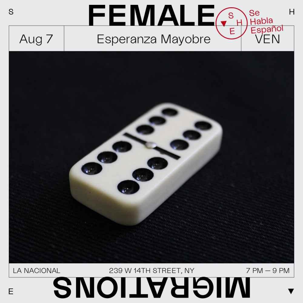7 de agosto - Esperanza Mayobre. Domingo familiar (no es domingo, pero ¿puedes jugar al dominó conmigo?). Reunión