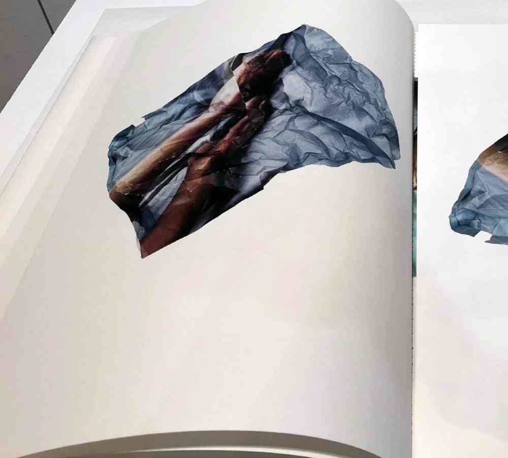 Libro de Artista: 12-25/ 71-84,(detalle) 2018, Alexandra Rodríguez Rey