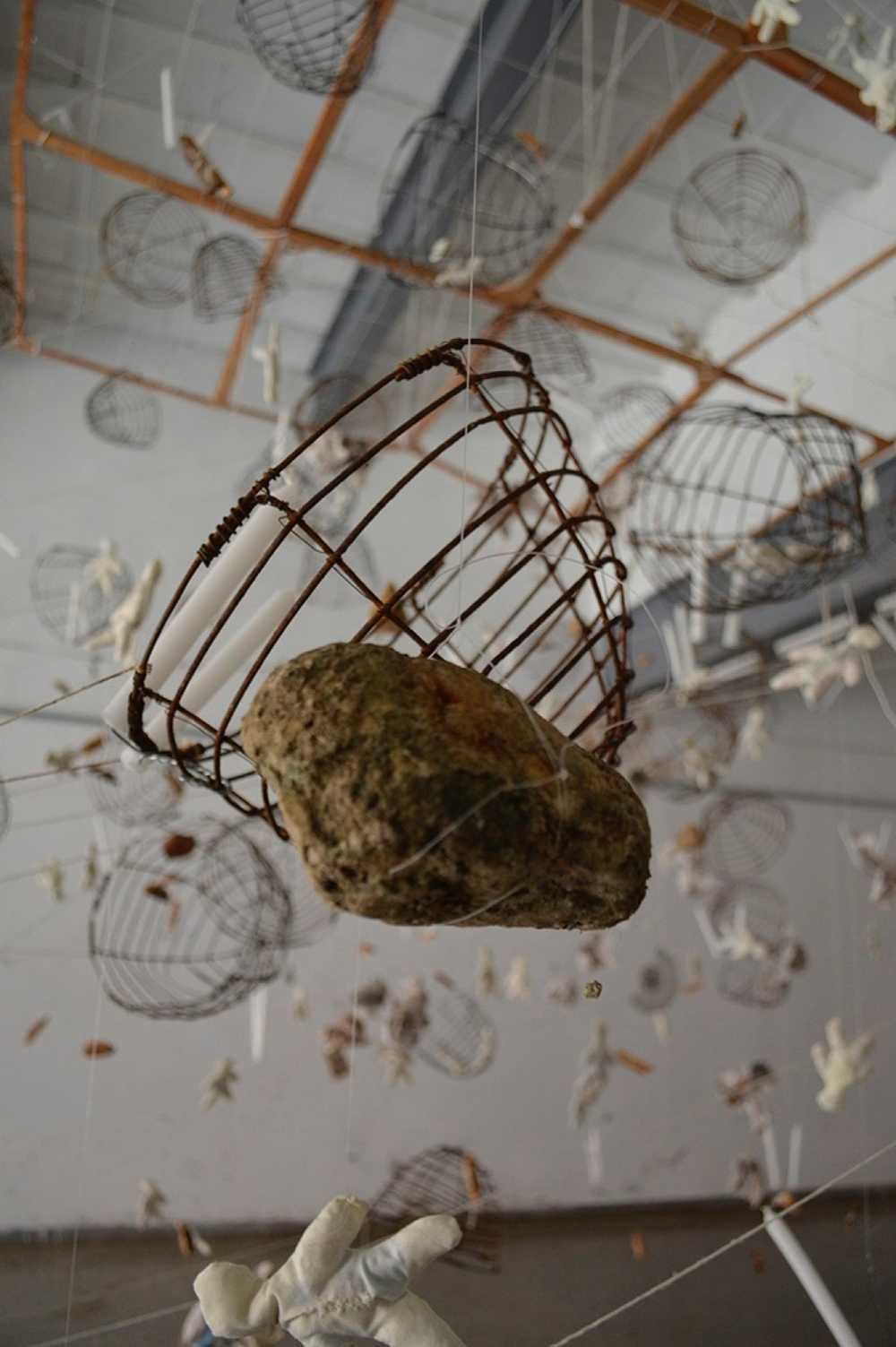 La medida de uno mismo. Instalación. Gertrudis Rivalta Oliva