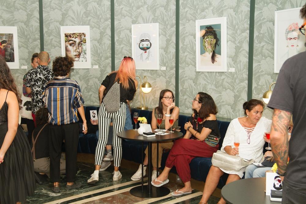 Exposiciones llevadas a cabo por El Club de las Mujeres (In) Visibles.