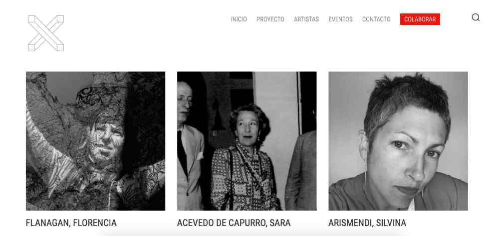 Colectiva COCO Fuente: Screenshot de la web archivox.uy