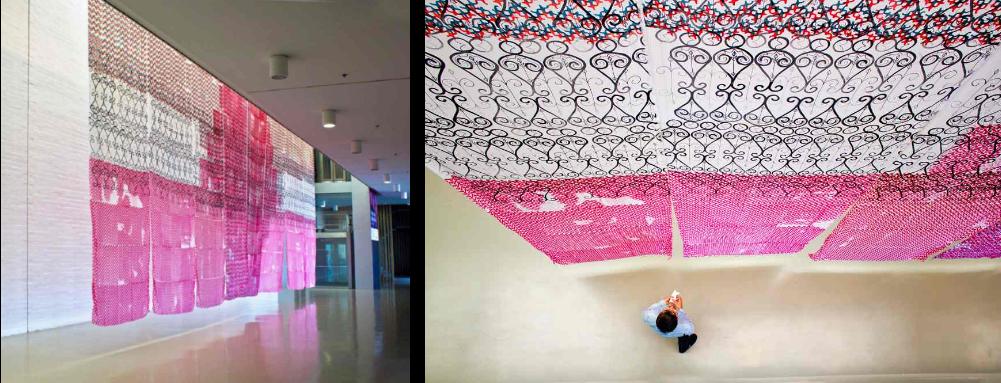 ISABEL FLORES Pattern to abstraction en la Sala Art Mustang, Elche. 2019