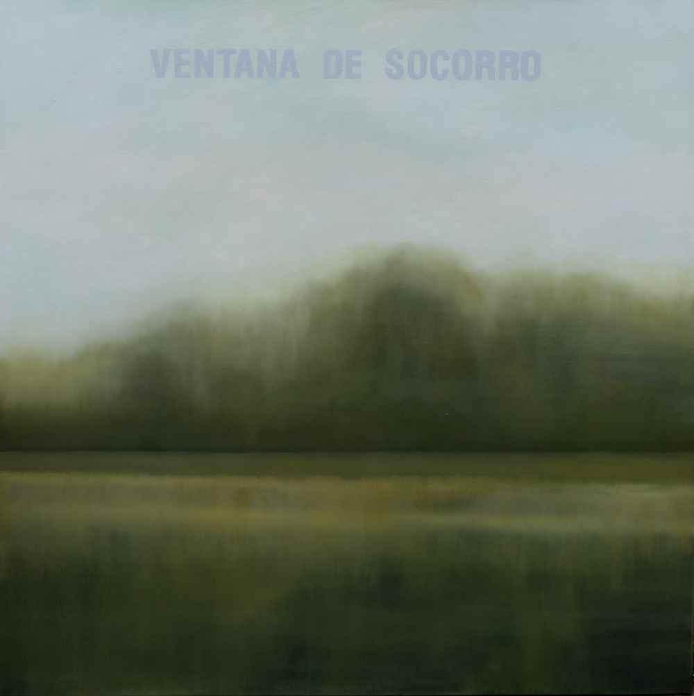 "Cristina Fernández Núñez""Ventana de Socorro""/ óleo sobre lienzo/150x150cm/2019"