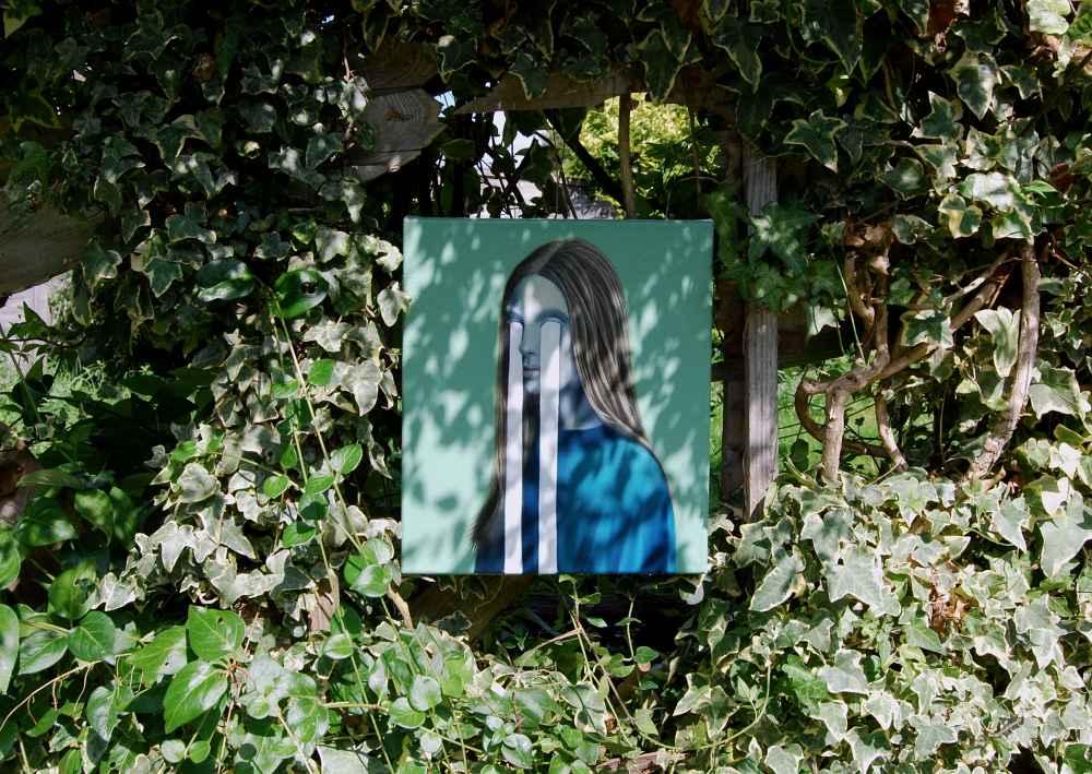Sin título. Melancolía, 2018 Óleo sobre lienzo Colección de la artista