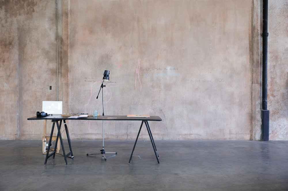 Proyecto El Borda, 2018 Fotografia, registro de audio, libro de dibujos y fotografía Colección de la artista