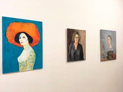 Feminismo Mágico. Una conexión con el pasado. Vista de la exposición. Marina Vargas. Galería de Sororidad.