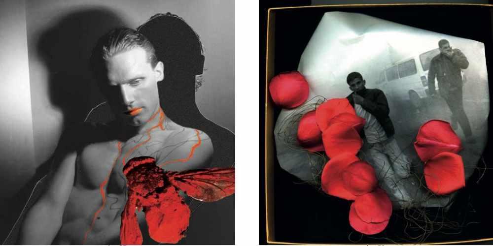 Francesca Martí, Johannes with red fly (2005). Fotografía sobre Dibond | photo- graph on Dibond, 100x100 cm. |rancesca Martí, Before the day after (2013). Fotografía sobre Dibond | photograph on Dibond, 130x130 cms, Cortesía | courtesy Zhuzhong Art Museum (Pekín | Beijing).