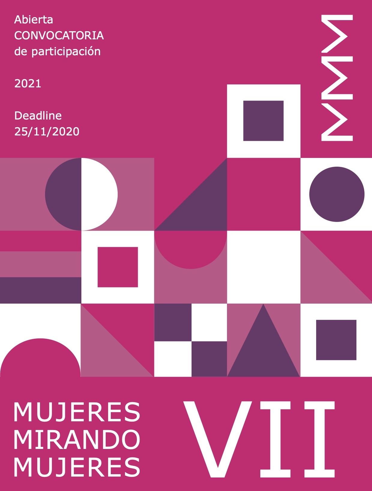 VII convocatoria MMM | Mujeres Mirando Mujeres | 2021