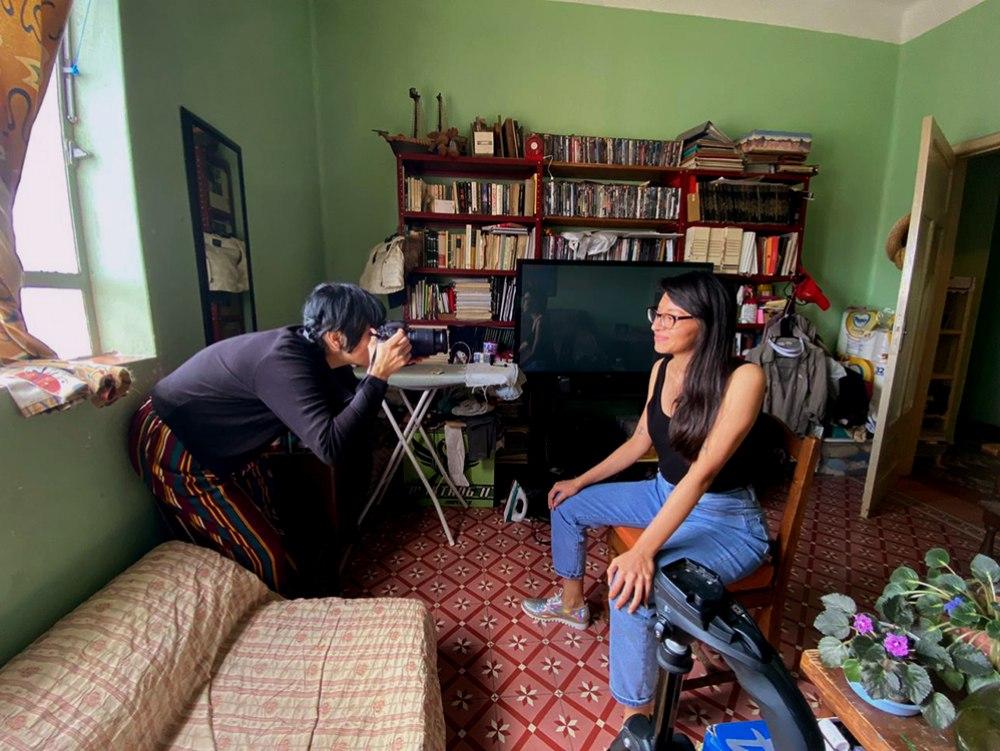 Chispillatronik Entrevistando a Isabel Gaspar, 2020.