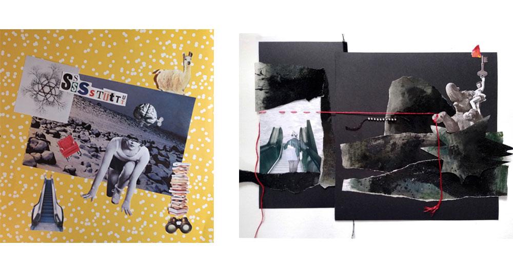 | Taller de Collage | Jornadas Resiliencia, Mujer y Arte | MUJERES MIRANDO MUJERES