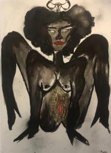 Pussy is God_Ritha Thende Mingomba | Mujeres Mirando Mujeres | Clara Fuster