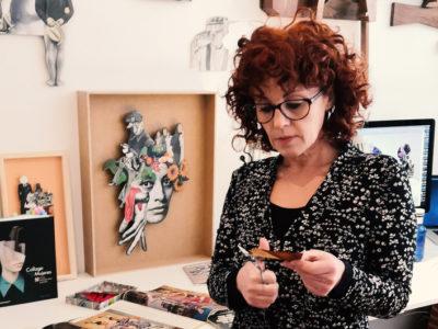Rebeka Elizegi | Taller de Collage | Jornadas Resiliencia, Mujer y Arte | MUJERES MIRANDO MUJERES