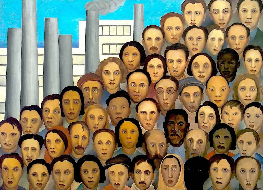 Carmen Santos Posca | Museo Feminista Virtual | VII MUJERES MIRANDO MUJERES