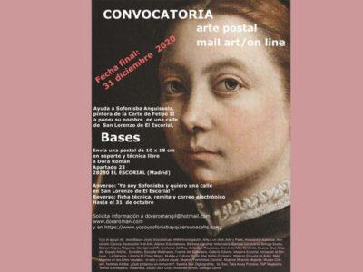 Cartel acción postal | Dora Roman | Sofonisba | Mujeres Mirando Mujeres