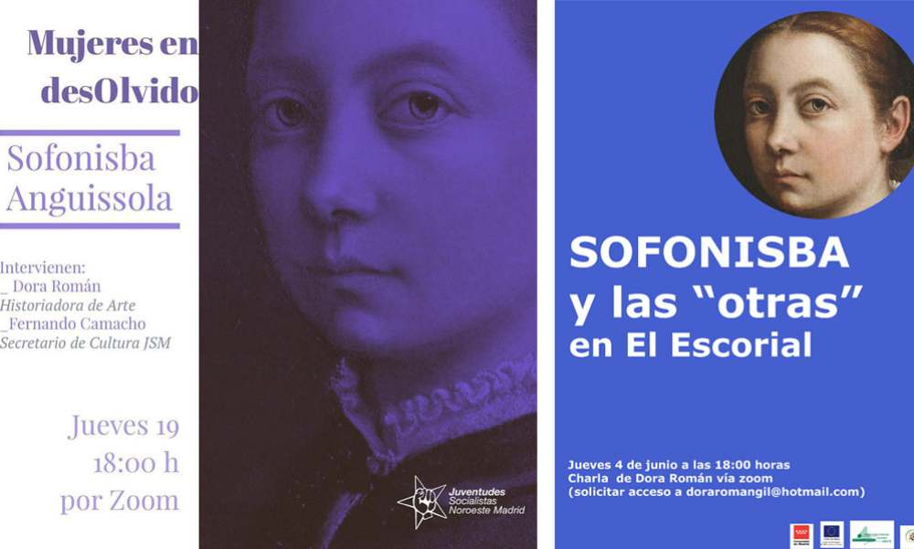 Conferencias Sofonisba Cartel acción postal | Dora Roman | Sofonisba | Mujeres Mirando Mujeres